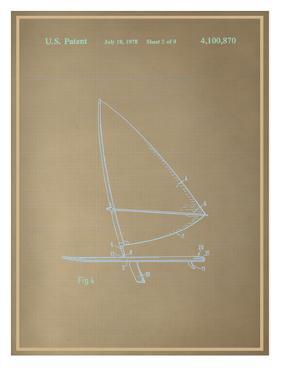 Wind Surfboard Blueprint