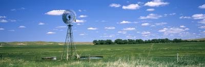 Windmill in a Field, Nebraska, USA
