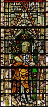 Window C6 Depicting St Matthias