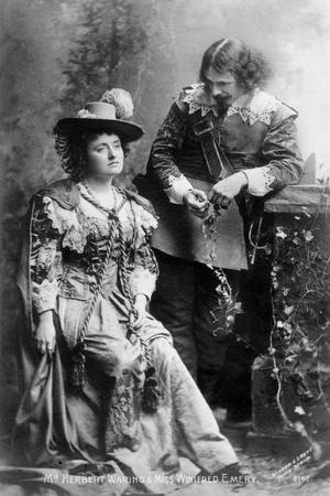Herbert Waring (1857-193) and Winifred Emery (1844-194), Actors, Early 20th Century
