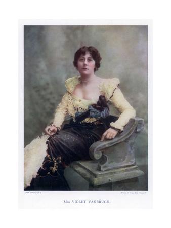 Violet Vanbrugh, English Actress, 1901