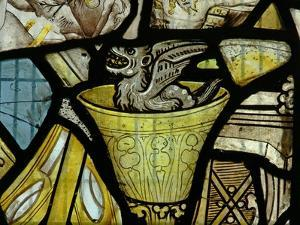 Window S3 Depicting a Devil in a Chalice - Probably from a Panel of St John