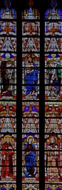Window W0 Depicting Christ and Five Saints Including St Helen