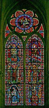 Window W202 Depicting Scenes from the Life of St John