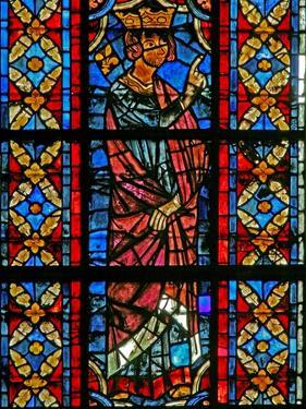 Window W209 Depicting a Scene from the Life of St Savinien: Aurelian Orders Savinien to Be Tortured