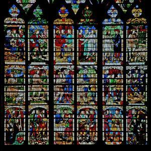 Window W232 Depicting Scenes from the Story of Daniel