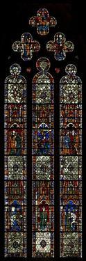 Window W40 Depicting St Peter and Pilgrim Window
