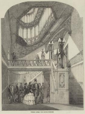 Windsor Castle, the Private Staircase