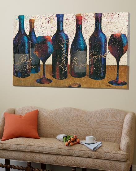 Wine Splash Light I--Loft Art