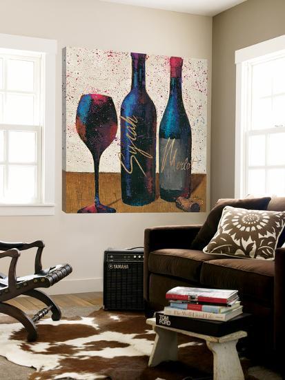 Wine Splash Light II--Loft Art