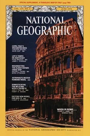Cover of the June, 1970 National Geographic Magazine by Winfield Parks