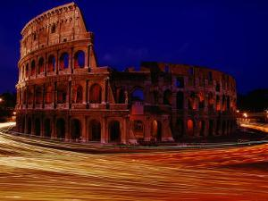 Night View of the Colosseum by Winfield Parks