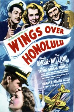 Wings Over Honolulu - Movie Poster Reproduction