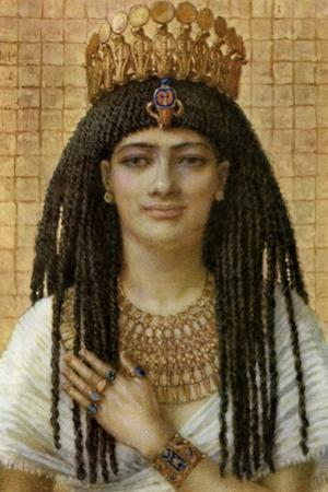 Mutnezemt, Ancient Egyptian Queen of the 18th Dynasty, 14th-13th Century BC by Winifred Mabel Brunton