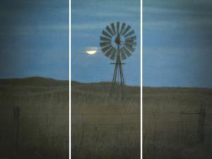Vintage Windmill by Wink Gaines