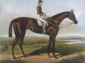 Winner of the Derby and St. Leger in 1881