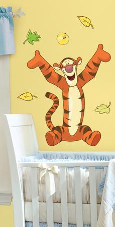 Winnie The Pooh   Tigger Peel U0026 Stick Giant Wall Decal
