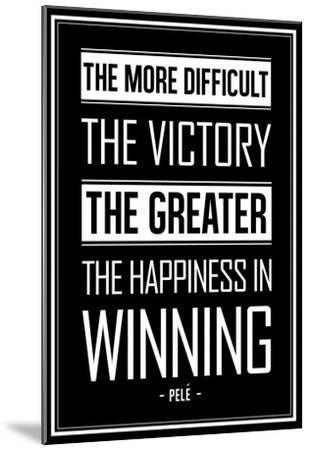 Winning - Black