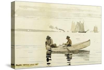 Boys Fishing, Gloucester Harbor, 1880