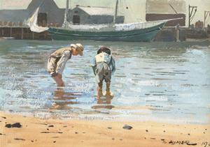 Boys Wading, 1873 by Winslow Homer
