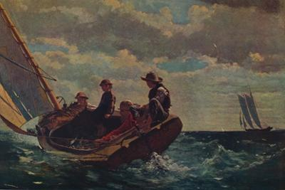 'Breezing Up', 1873-1876 by Winslow Homer