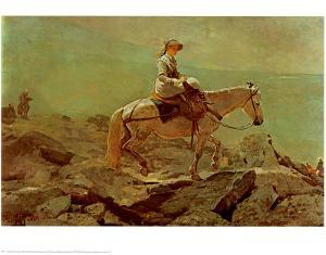 Bridle Path White Mountains by Winslow Homer