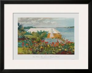 Bungalow Bermuda by Winslow Homer