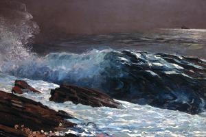 Coast, 1890 by Winslow Homer