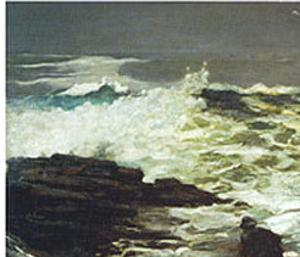 Driftwood, 1909 by Winslow Homer