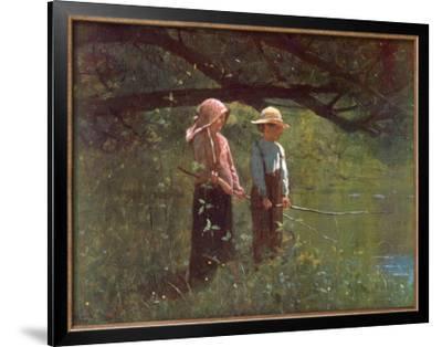 Fishin' by Winslow Homer