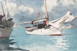 Fishing Boats, Key West, 1903 by Winslow Homer