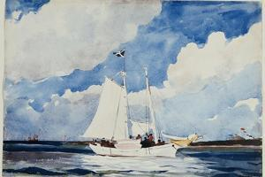 Fishing Schooner, Nassau, C.1898-99 by Winslow Homer