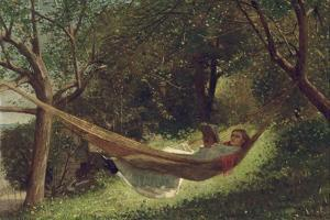 Girl in the Hammock, 1873 by Winslow Homer