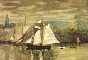 Gloucester Schooners and Sloop by Winslow Homer