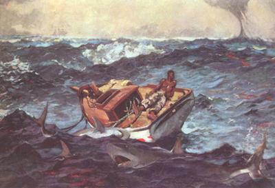 Winslow Homer (Gulf Stream) Art Poster Print