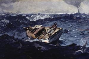 Gulf Stream by Winslow Homer