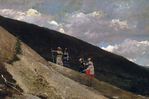 In The Mountains by Winslow Homer