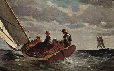Winslow Homer (It will refresh on) Art Poster Print
