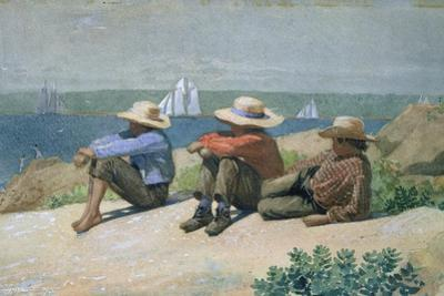 On the Beach by Winslow Homer