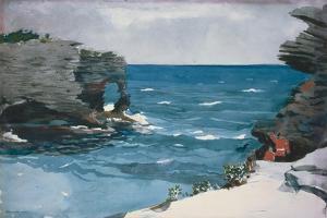 Rocky Shore, 1900 by Winslow Homer