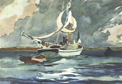 Sloop Bermuda by Winslow Homer
