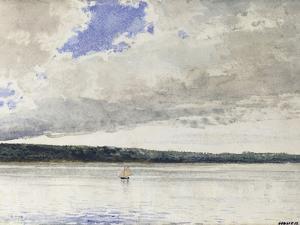 Small Sloop, 1880 by Winslow Homer