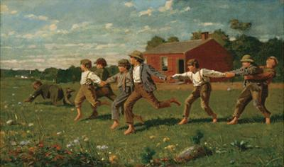 Snap the Whip, 1872