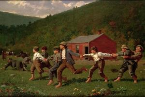 Snap the Whip, 1872 by Winslow Homer