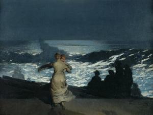 Summer Night, 1890 by Winslow Homer
