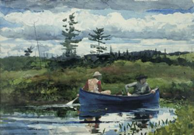 The Blue Boat, c.1892 by Winslow Homer