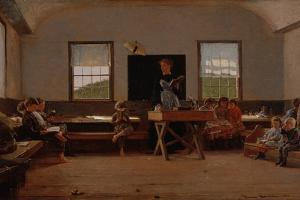 The Country School, 1871 by Winslow Homer