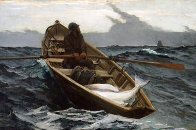 The Fog Warning by Winslow Homer by Winslow Homer