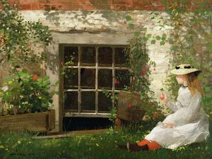 The Four Leaf Clover, 1873 by Winslow Homer