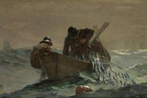 The Herring Net, 1885 by Winslow Homer